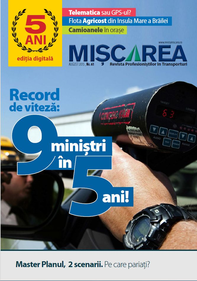 REVISTA MISCAREA | Revista profesionistilor in transporturi