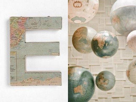 Trouwen & reizen = geweldig thema voor bruiloft - Pinterested @ http://wedspiration.com.