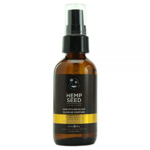 Manage your hair with our amazing Hemp Seed and Coconut Oil styling formula. Both of these oils are wonderful emollients that moisturize and add control. Helps avoid damage by making the hair more comb-able while managing frizz.