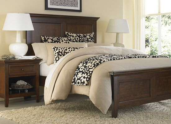 Our Ashebrooke Bedroom From #Havertys Features The Zulu Nights Duvet  Ensemble And Bedscarf Set In
