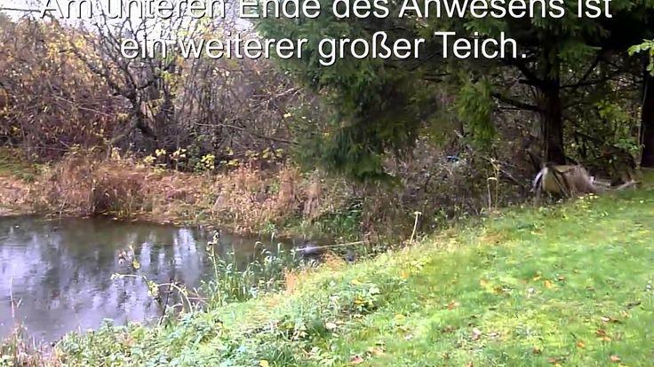 Teichanwesen in Bayern zu verkaufen mit hohem Wasserdargebot