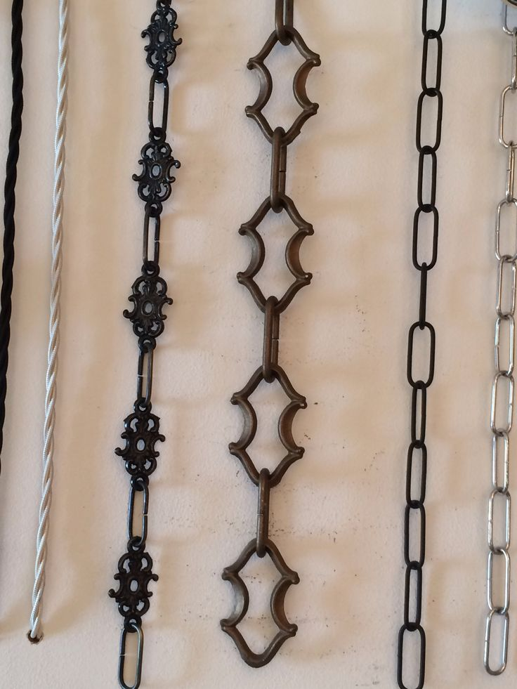 Customise your fitting, with great chandelier chain.