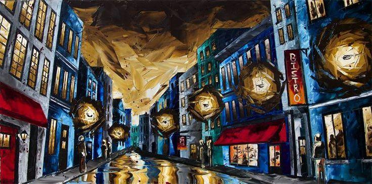 Jean-Simon Bégin Artiste Peintre ~ Oil on Canvas http://www.jeansimonbegin.com/