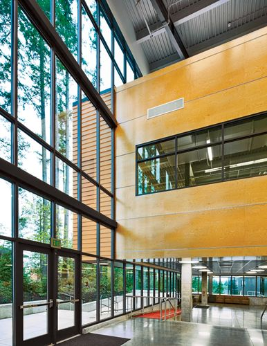 Great Atrium Space K12 Education via @ArchRecord Architecture