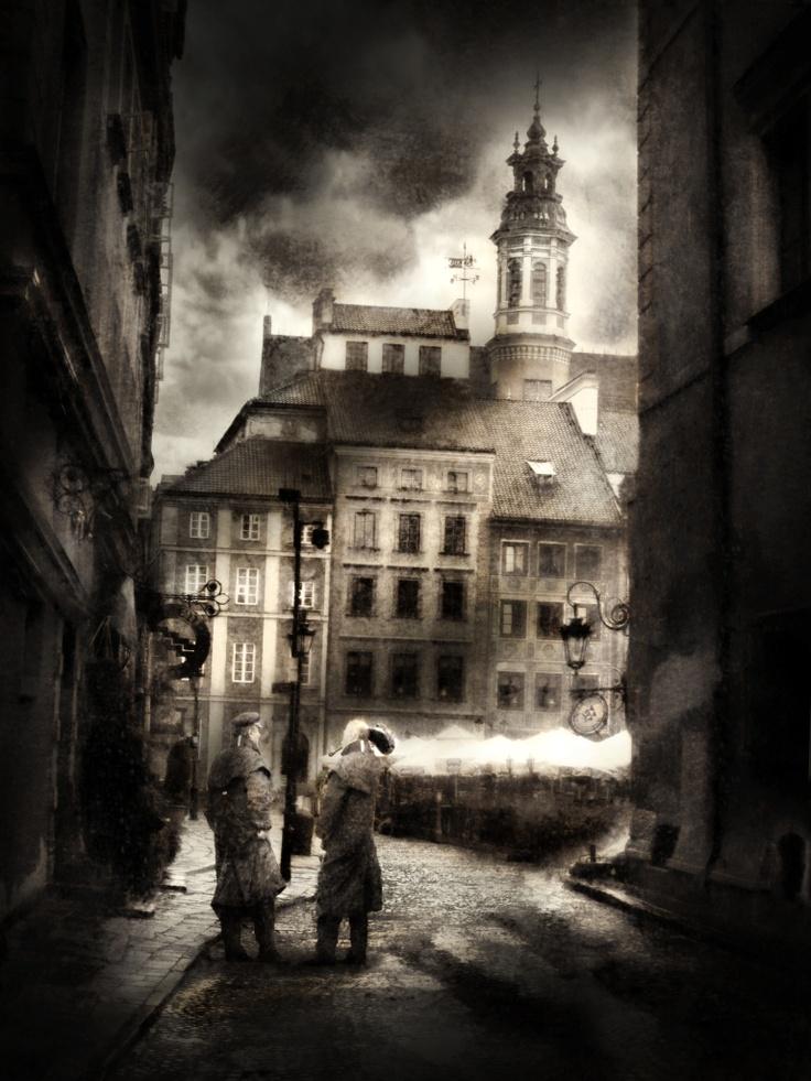 gn'tmn by Tomasz Wisniewski #dark #street