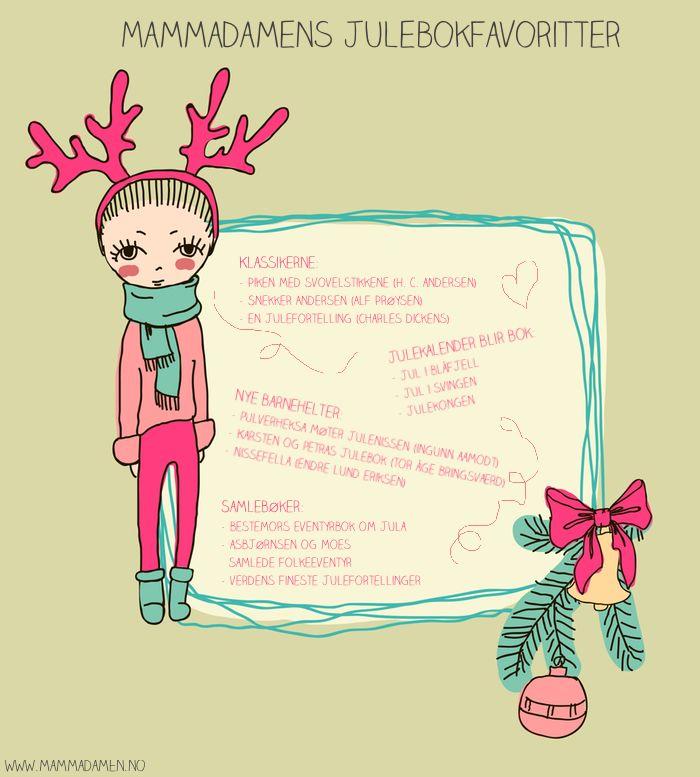 Fine julebøker for barn
