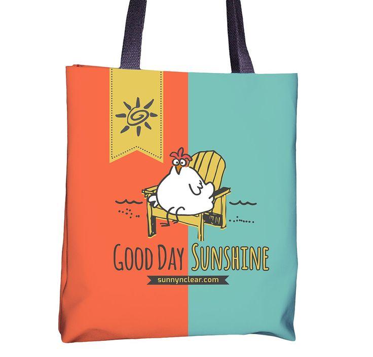 Tote Bag - Chicken Good Day Sunshine