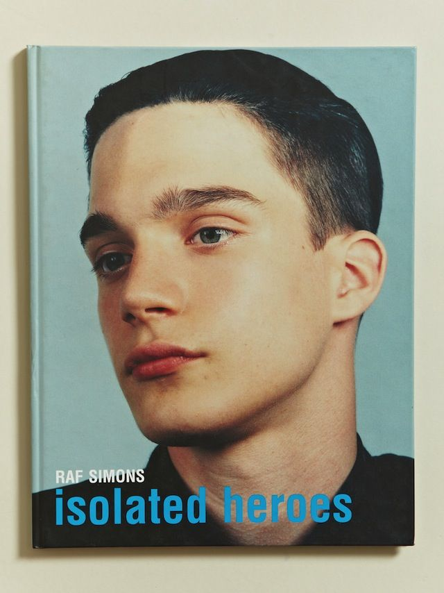 ISOLATED HEROES RAF SIMONS × DAVID SIMS