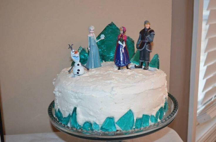 ... FROZEN  FROZEN PARTY IDEAS  Pinterest  Homemade Cakes, Frozen and