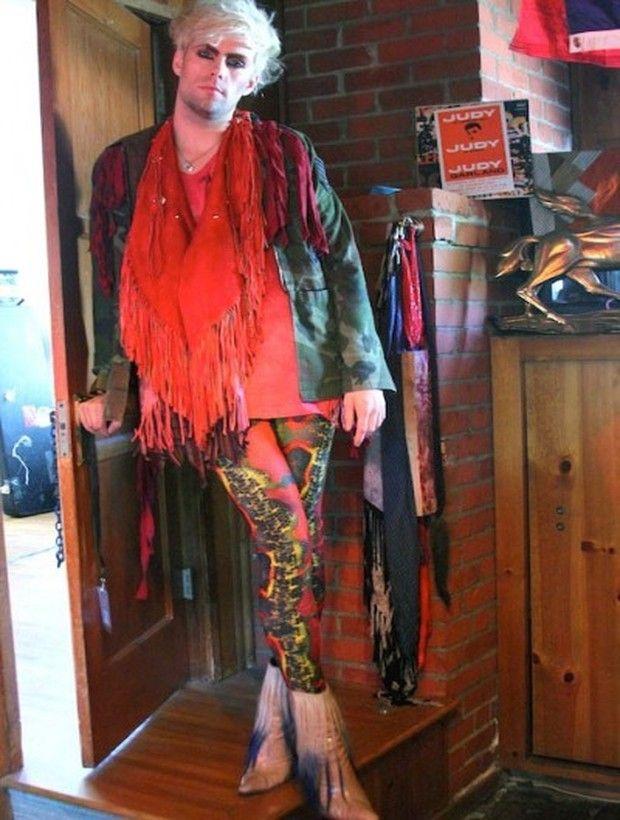 Glitter and Punk: Justin Tranter's Closet