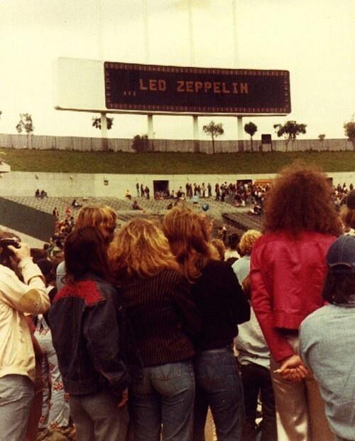 Led Zeppelin concert