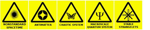 Warning #Signs for Tomorrow - The #Book of Ratings rates danger #symbols (via Ian Albert). Very enjoyable, and brings up the question of how to mark new threats. All the truly cool #transhuman technologies are going to require warning signs.