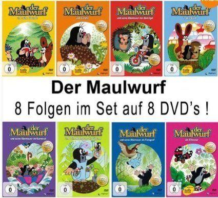 Der Maulwurf - 8 DVD Set, EUR 39,90