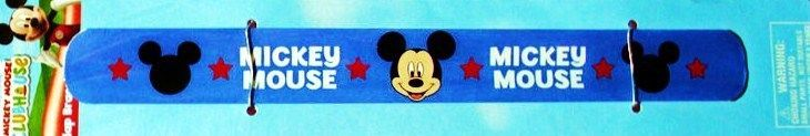 Mickey Mouse Clubhouse Disney Slap Bracelet Blue Band Party Favors Lowest Price  #Disney
