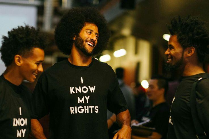 """Colin Kaepernick """"I Know My Rights"""""""