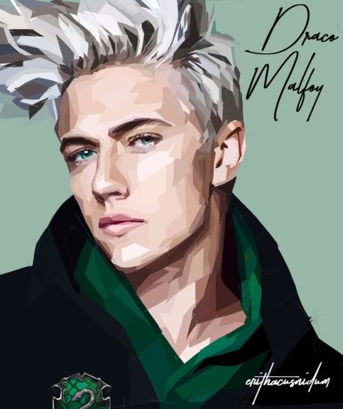 Lucky Blue Smith as Draco Malfoy // please do not repost or remove credit