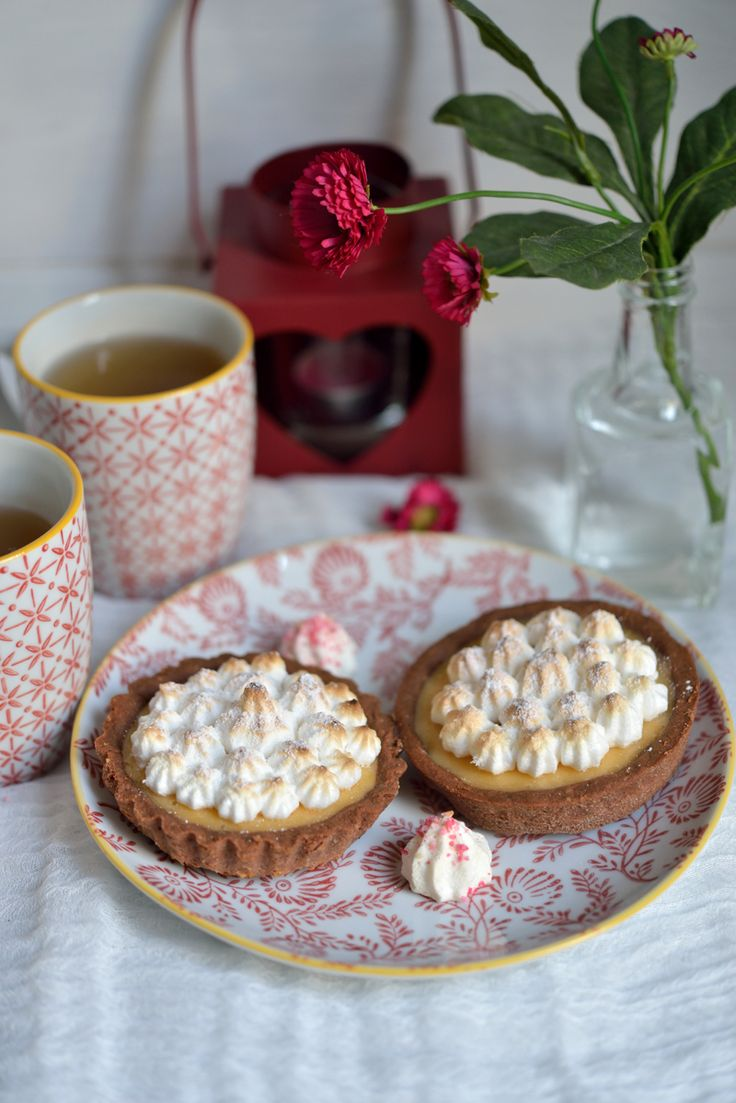 Tartelettes meringuées au pamplemousse - Safran Gourmand