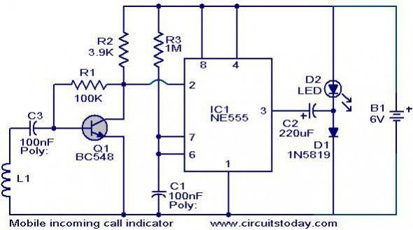 Mobile Camera Wiring Diagram Electronic Schematics Electronics Basics Electronics Projects