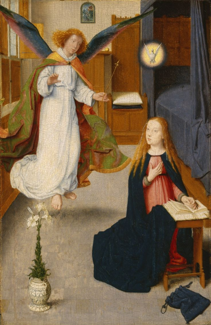 Gerard David - The Annunciation. 1490