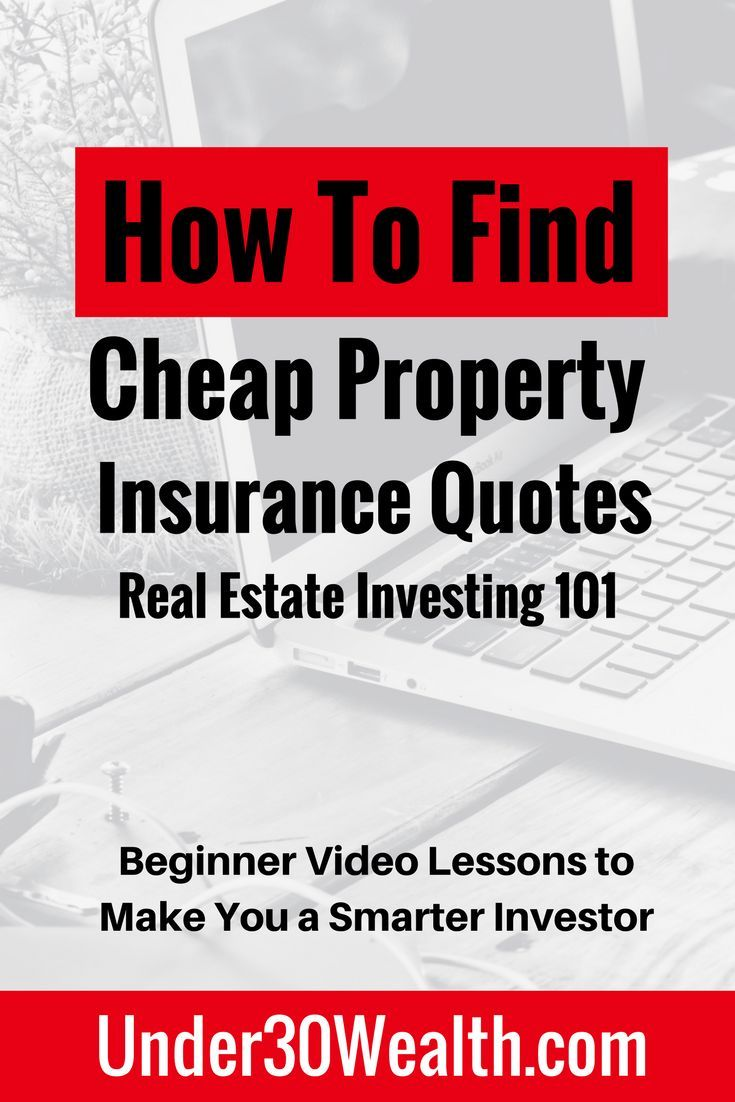 As A Real Estate Investor Your Duty Is To Get Quotes For Property Insurance Before Real Estate Investing Quotes Getting Into Real Estate Real Estate Investing