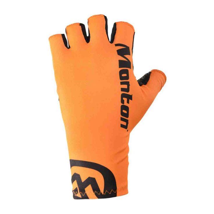 Orange Cycling Gloves