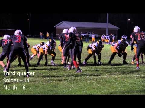 Snider overcame an early deficit and a weather delay to defeat North Side 17-6 in The News-Sentinel Game of the Week on Friday in Fort Wayne. Check out the video highlights from this game between two SAC rivals and the top two ranked teams in the Fort Wayne area.