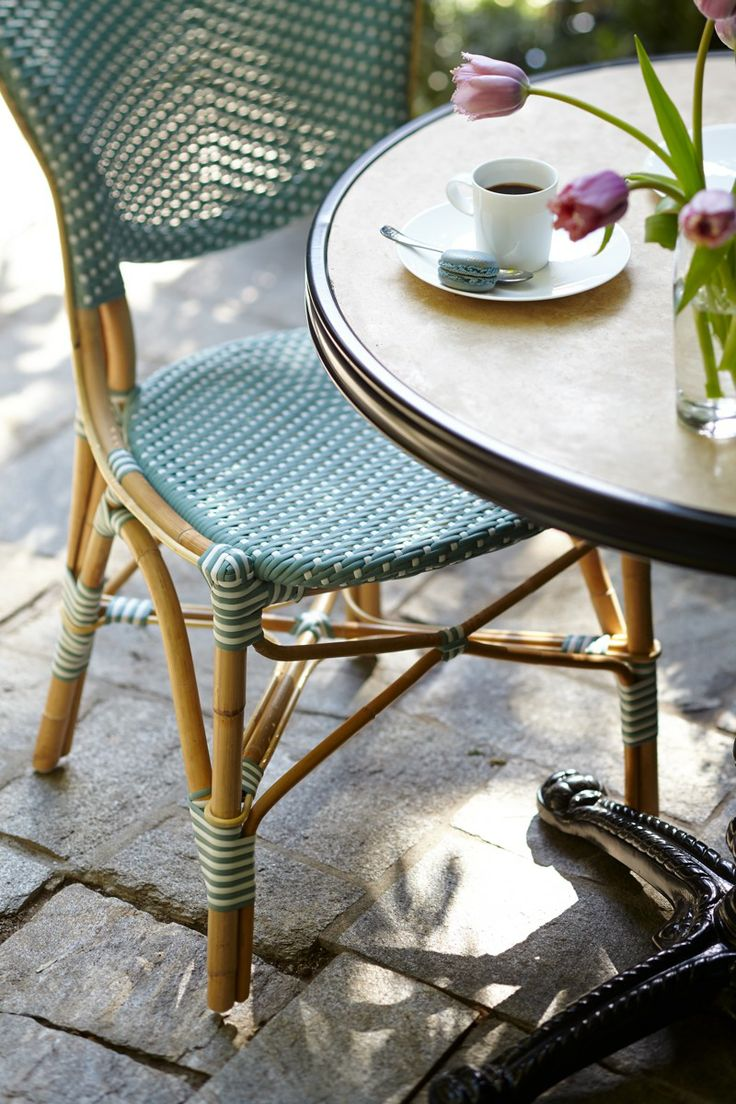 Create The Allure Of A French Sidewalk Café With These Charming And  Comfortable Paris Bistro Dining Chairs.