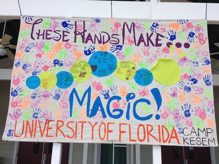 Camp Kesem University of Florida Karl Banner