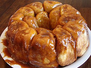 Christmas Morning Monkey Bread- uses butterscotch pudding like Grandmas!
