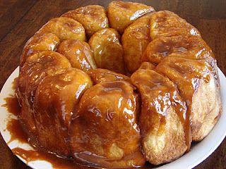 Christmas Morning Monkey Bread- uses butterscotch pudding like Grandmas!