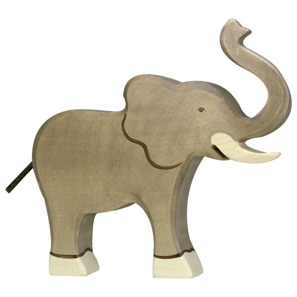 HOLZTIGER Elephant trunk raised 80148