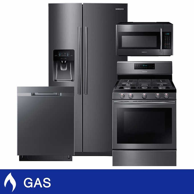 https://www.costco.com/Samsung-4-Piece-GAS-24.5CuFt-Side-by-Side-In-Door-Ice-Maker-Kitchen-Package-in-Black-Stainless-Steel.product.100369326.html