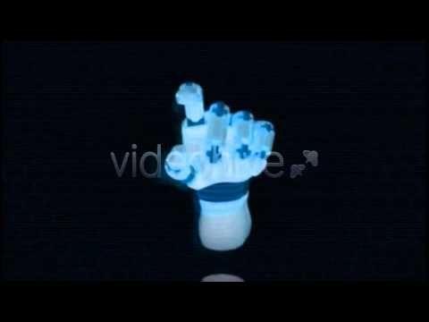 Robot Hand Logo / Cinema 4D Template / Way to DOWNLOAD - http://videohive.net/item/robot-hand-logo/5965252?ref=BlastBeatMedia