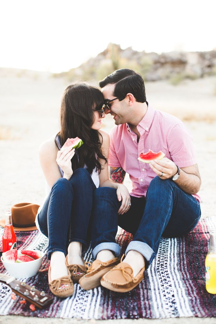 New Darlings - Robert & Christina - Minnetonka Moccasins - Picnic