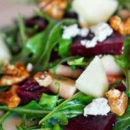 Roasted beet & arugula salad; Farm to Table Restaurant, Albuquerque