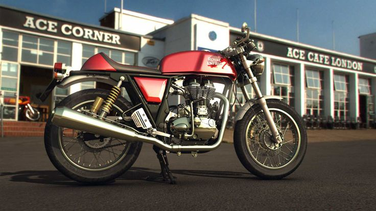 Continental GT 535 aka Café Racer Bike | Royal Enfield Motorcycle