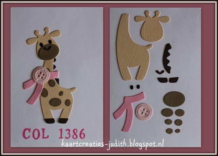 Giraf - Marianne Design