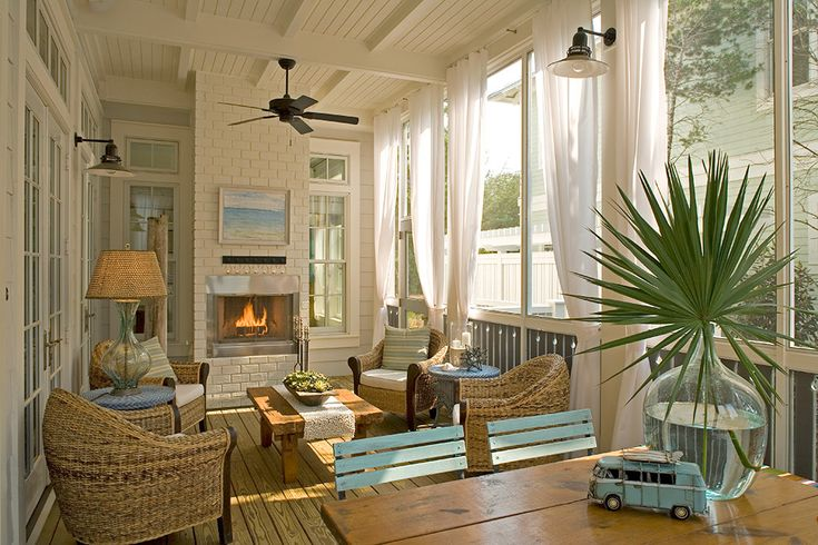 WaterColor, Florida home, designed by Georgia Carlee of GCI Design.