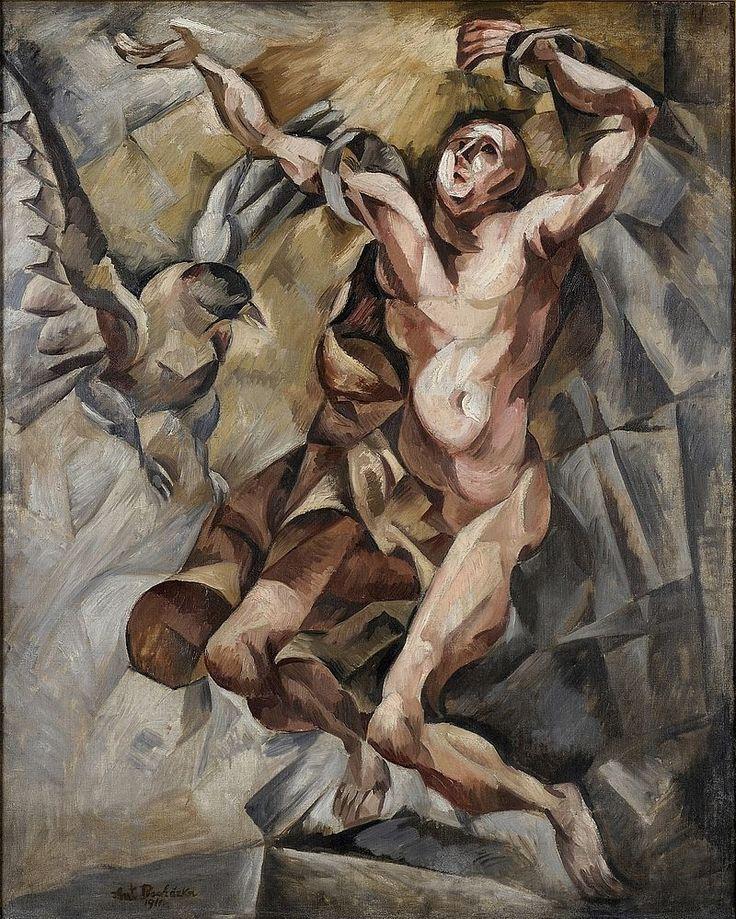 Antonín Procházka - Prometheus 1911 - Antonín Procházka (malíř) – Wikipedie