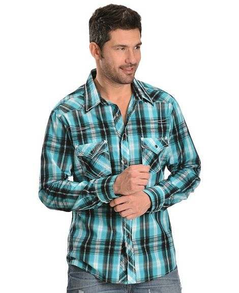 469 best western clothing images on pinterest menswear for Boys teal t shirt