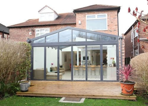 pitched roof, conservatory style