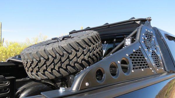Addictive Desert Designs Race Series-R Chase Rack (w/ Tire Carrier) for your 2010-2014 SVT Raptor.