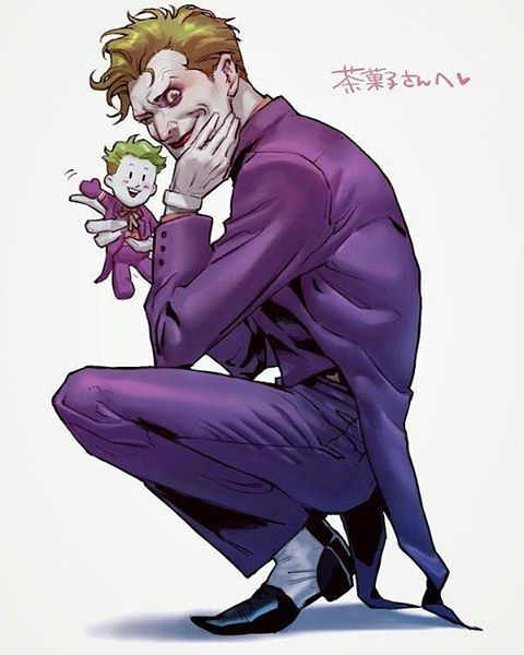 The Joker by tyag53 on Twitter #joker #thejoker #mrj #clownprinceofcrime