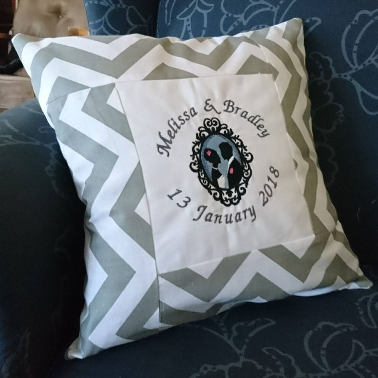 Excited to share the latest addition to my #etsy shop: Wedding Personalised Name Pillow Cover http://etsy.me/2mL5vUF #housewares #pillow #bedroom #cotton #namepillow #custompillow #cushion #weddingpillow