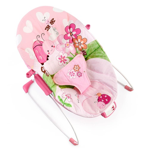 walmart bouncy chair wooden glider canada bright starts pretty in pink meadow blossoms bouncer | pinterest bouncers