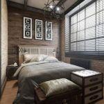 modern-and-small-wood-panel-bedroom-wall