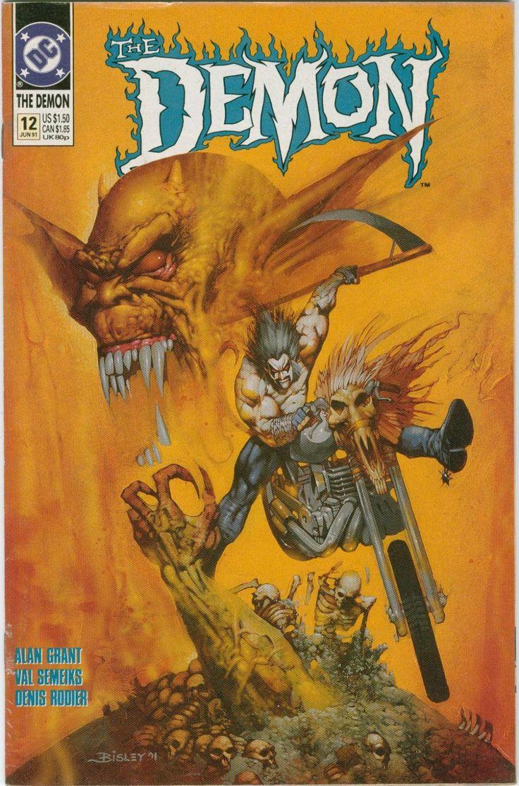 best images about vintage comics vintage demon etrigan the demon comic book number 12 1991 3rd series dc comics