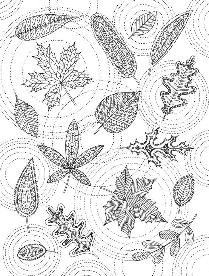 pin barbara op coloring tree leaf kleurplaten