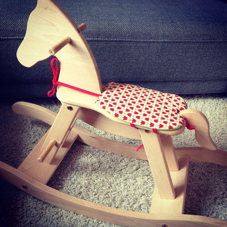 A Pony needs a saddle.