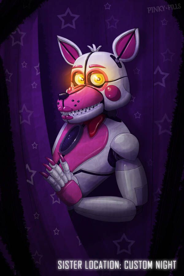 Sister Location Custom Night Funtime Foxy By Pinkypills With